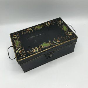 Other - Vintage Metal Jewelry Box